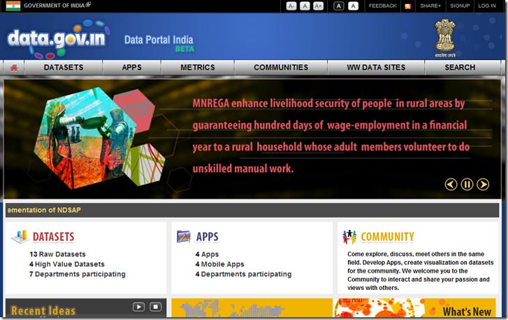 open data portal india