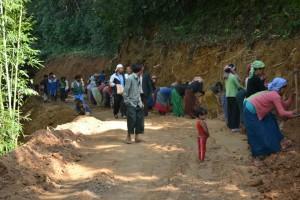 Tamenglong Road Work