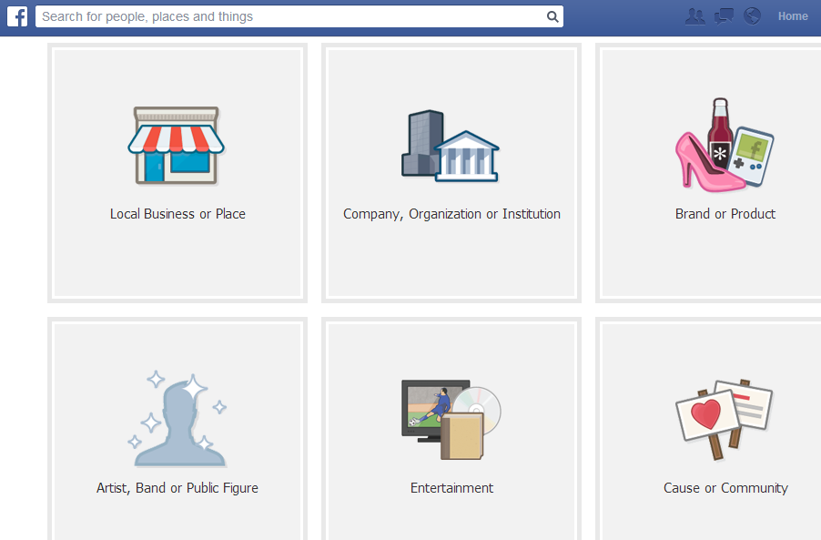 When to Create a facebook page