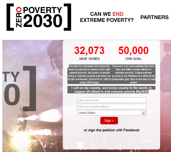 end extreme poverty by 2030