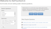 How to Ask Your Government and Get answers for Public Interest Questions