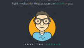 Save the Hacker – An event to fight the mediocrity trend in Technology